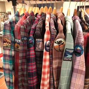 Custom order your own National Park Flannel today!